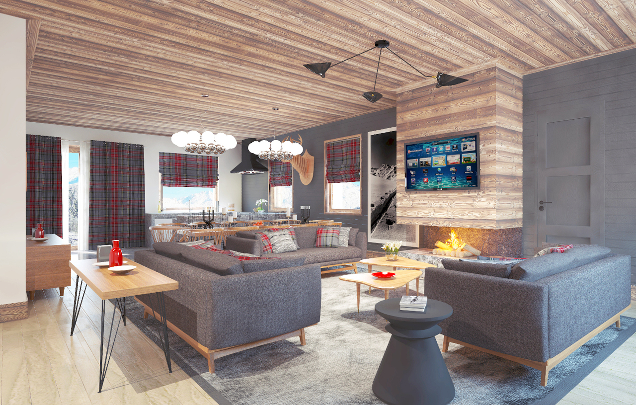 NEW RESIDENCE IN THE CENTRE OF MEGEVE Chalet in Megeve