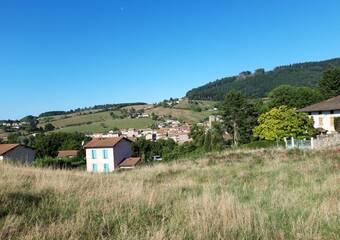 Vente Terrain 910m² Cublize (69550) - photo