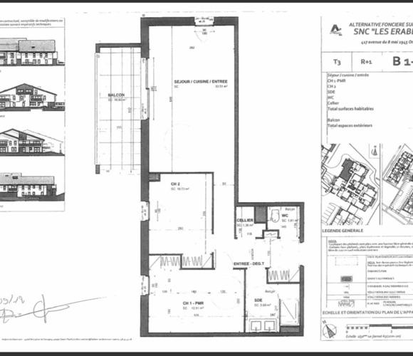Location Appartement 3 pièces 66m² Ondres (40440) - photo