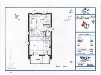 Location Appartement 3 pièces 65m² Lahonce (64990) - Photo 1