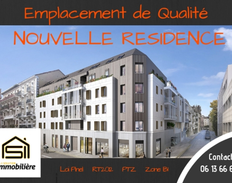 Vente Appartement 1 pièce 27m² Grenoble (38100) - photo