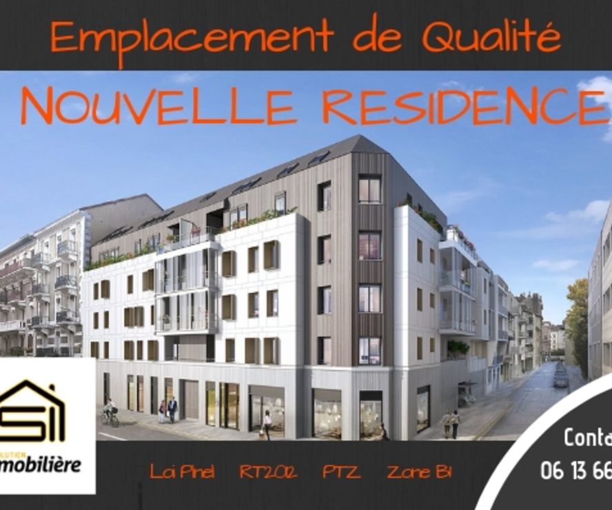 Sale Apartment 3 rooms 59m² Grenoble (38100) - photo