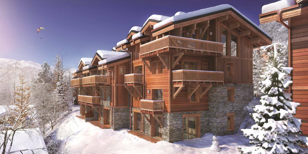 CHARMING DUPLEX WITH VIEW Chalet in Courchevel