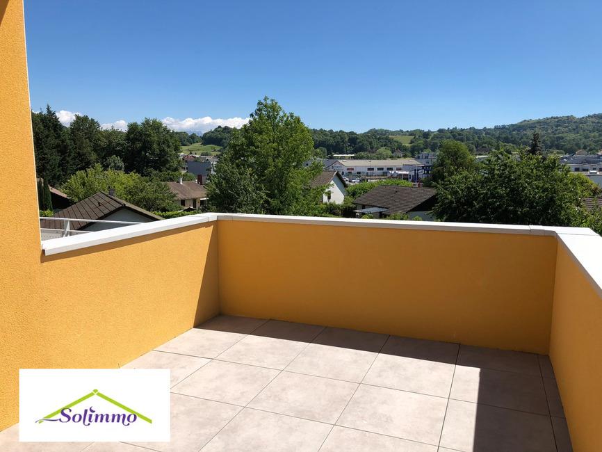 Location Appartement 3 pièces 55m² Les Abrets (38490) - photo