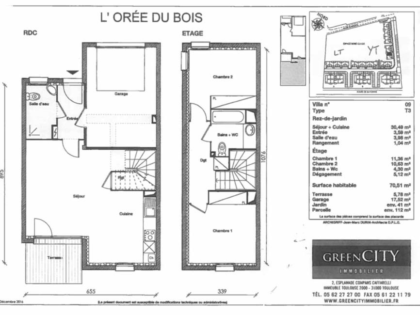 Location Maison 3 pièces 71m² Bénesse-Maremne (40230) - photo