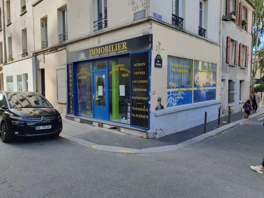 Vente Bureaux 2 pièces 42m² Paris 19 (75019) - photo