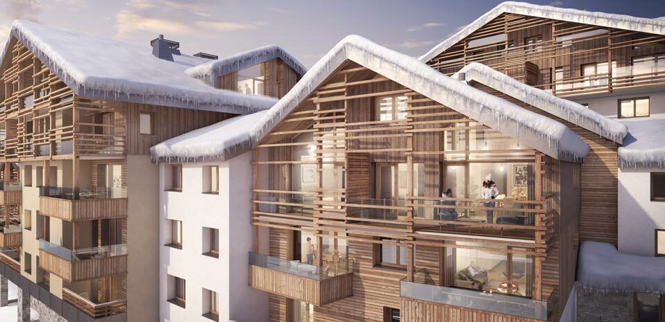 MAGNIFICENT 3 BEDROOMS APARTMENT WITH CABIN IN THE NEW PROGRAMME LES FERMES DE L'ALPE Accommodation in Alpe d'Huez