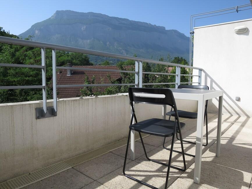 Location Appartement 1 pièce 17m² Meylan (38240) - photo