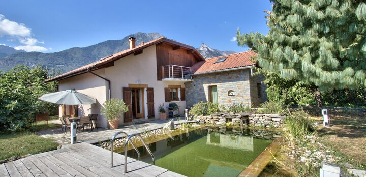 Vente maison 7 pi ces gilly sur is re 73200 157664 for Piscine gilly sur isere