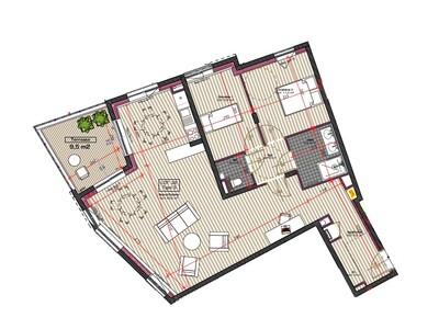 Vente Appartement 3 pièces 88m² Saint-Étienne (42000) - Photo 3