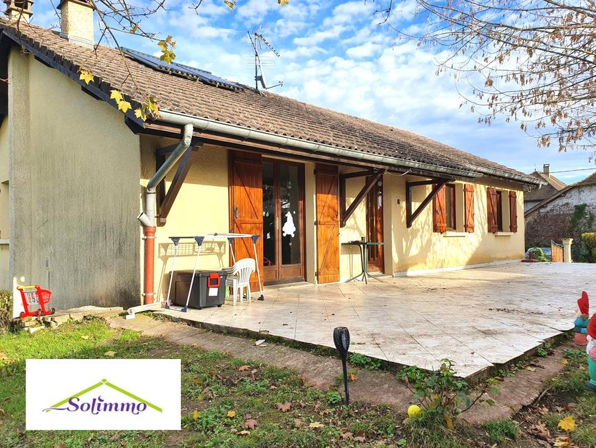 Vente Maison 5 pièces 100m² Morestel (38510) - photo