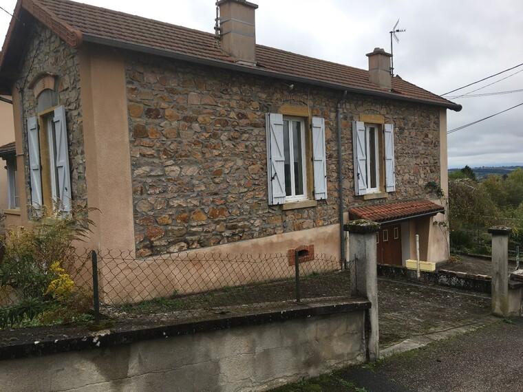 Vente Maison 6 pièces 95m² Bourg-de-Thizy (69240) - photo