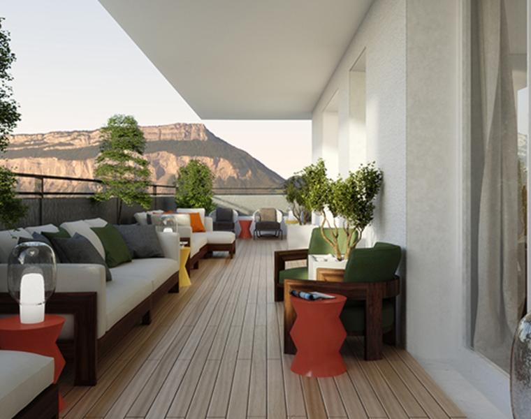 Vente Appartement 4 pièces 83m² Meylan (38240) - photo