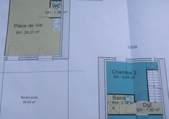 Vente Maison 3 pièces 49m² Aoste (38490) - Photo 1