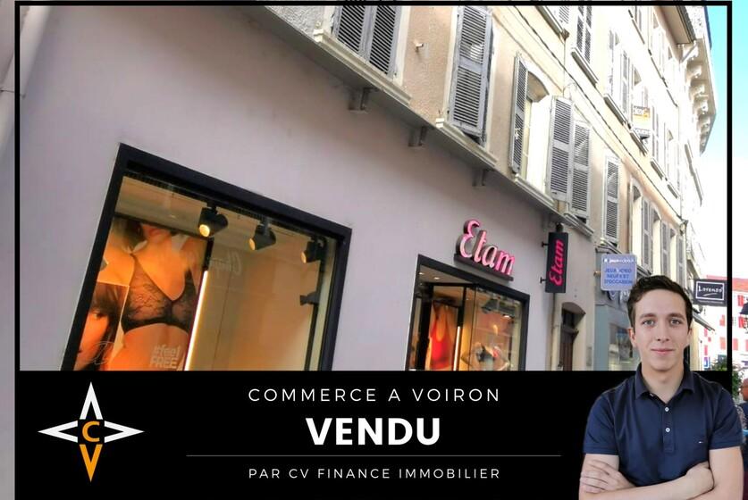 Vente Local commercial 2 pièces 80m² Voiron (38500) - photo