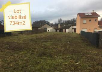Vente Terrain 734m² Beaucroissant (38140) - photo