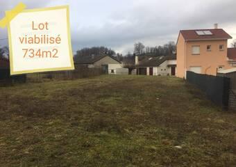 Sale Land 734m² Beaucroissant (38140) - photo
