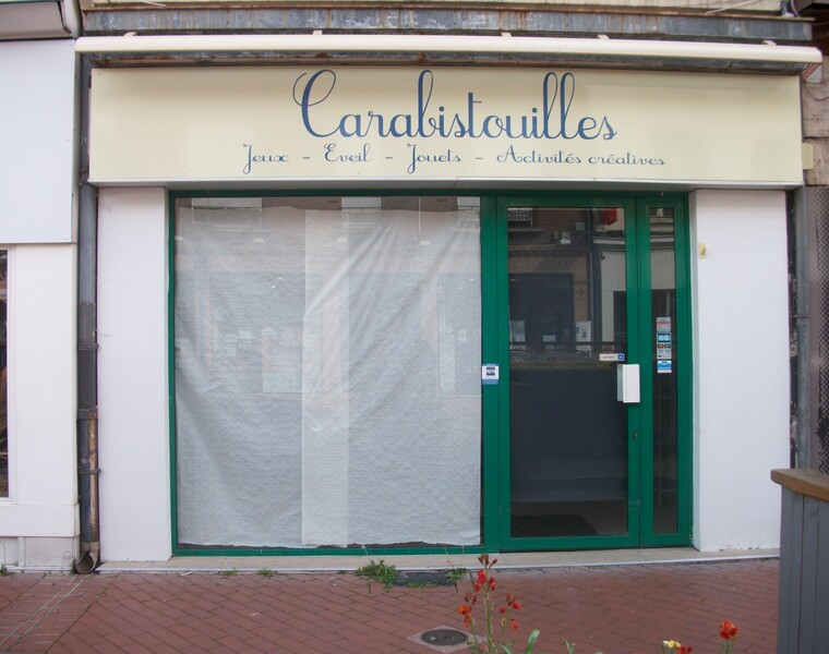 Location Local commercial 2 pièces 54m² Chauny (02300) - photo