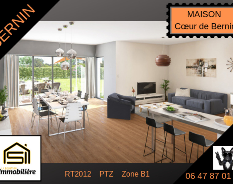 Sale House 5 rooms 143m² Bernin (38190) - photo