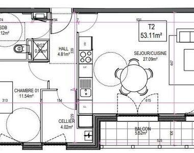 Vente Appartement 2 pièces 53m² Le Touquet-Paris-Plage (62520) - photo