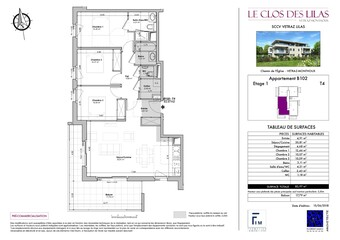 Sale Apartment 4 rooms 84m² Vétraz-Monthoux (74100) - Photo 1