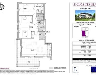 Sale Apartment 4 rooms 84m² Vétraz-Monthoux (74100) - photo