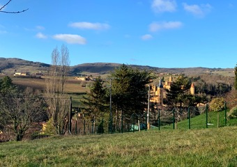 Vente Terrain 1 845m² Jarnioux (69640) - photo