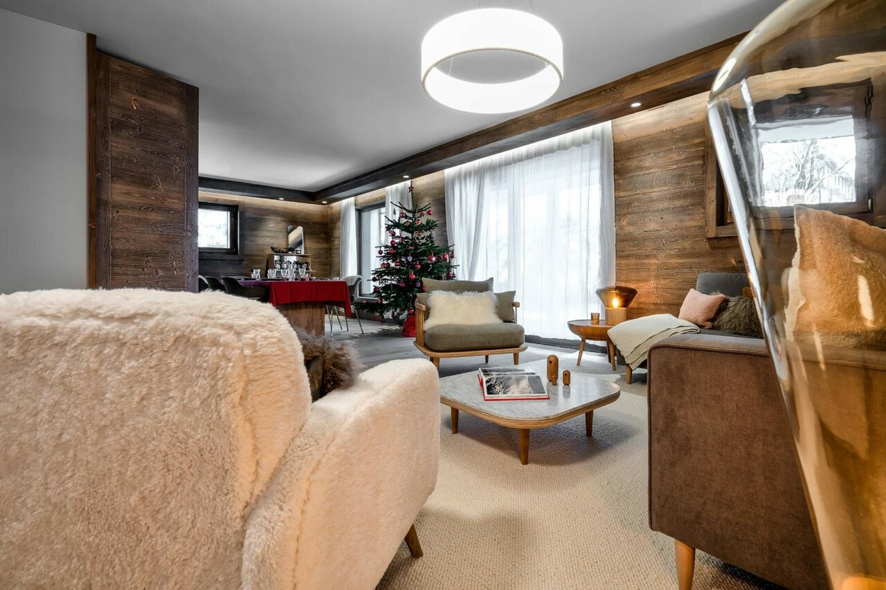 DUPLEX UNDER THE ROOFS Chalet in Megeve