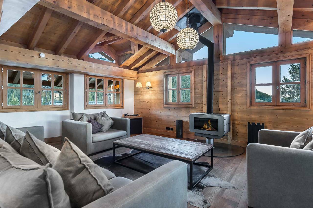 NEW CHALET PERFECTLY LOCATED Chalet in Courchevel