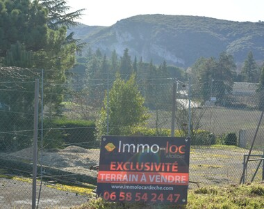 Sale Land 1 123m² Vallon-Pont-d'Arc (07150) - photo
