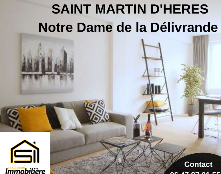 Vente Appartement 2 pièces 49m² Saint-Martin-d'Hères (38400) - photo