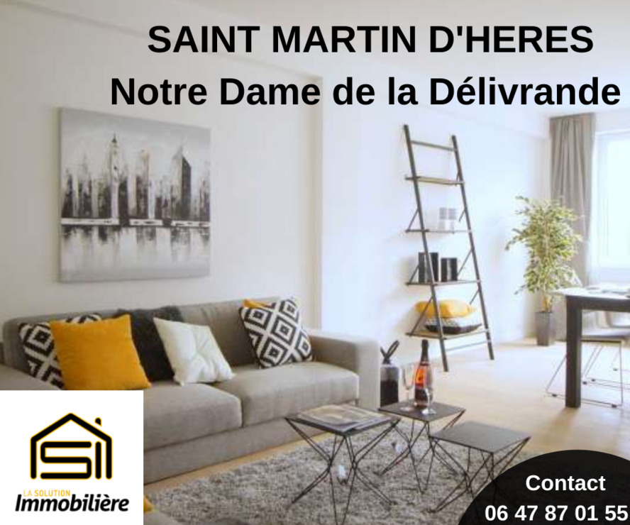 Vente Appartement 4 pièces 75m² Saint-Martin-d'Hères (38400) - photo