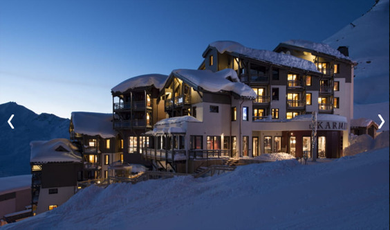 PREMIUM DUPLEX IN A LUXURY RESIDENCE Accommodation in Val Thorens