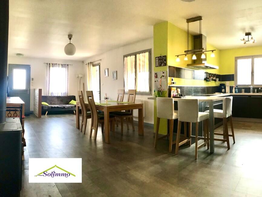 Vente Maison 5 pièces 126m² La Bâtie-Montgascon (38110) - photo
