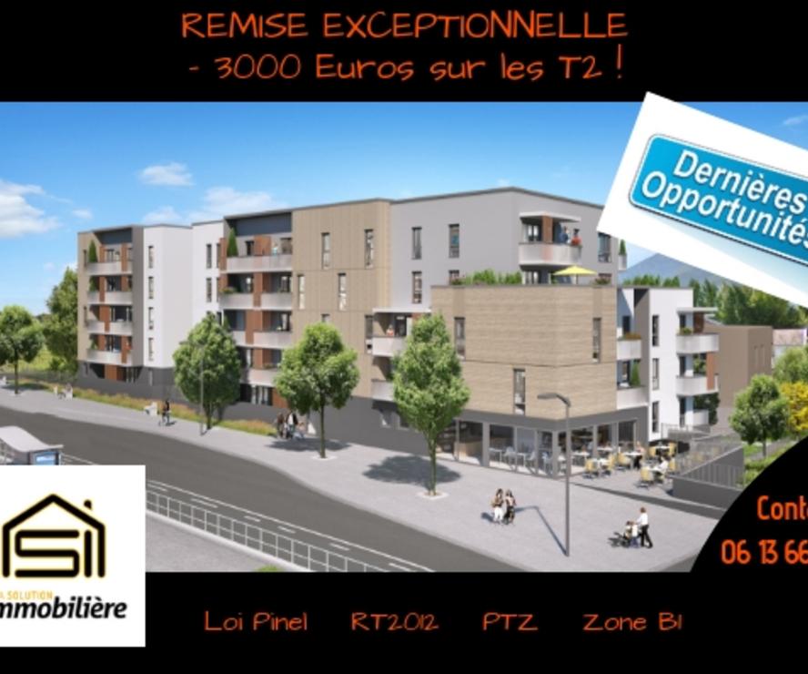 Vente Appartement 2 pièces 42m² Saint-Égrève (38120) - photo