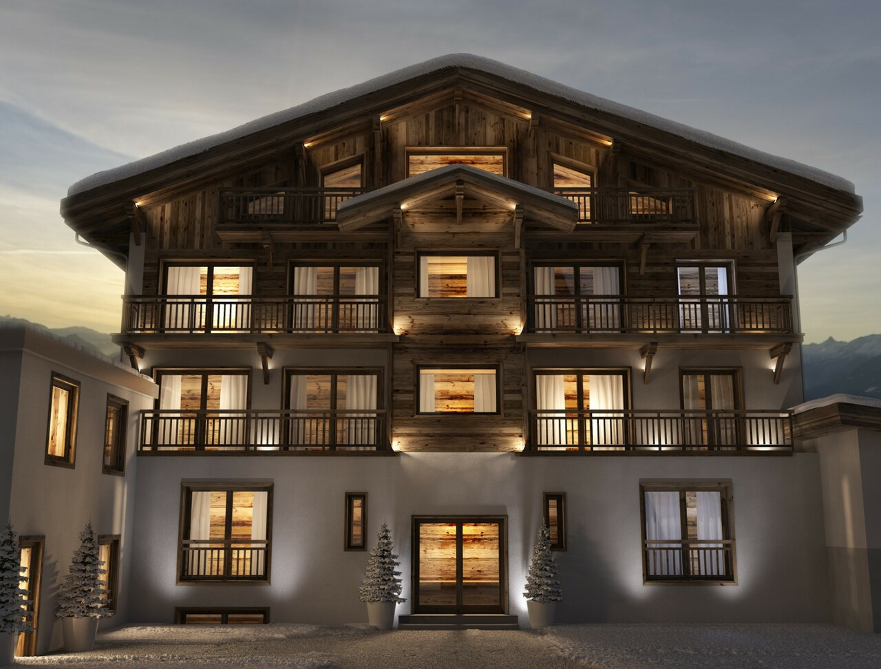 NEW RESIDENCE IN THE CENTRE OF MEGEVE Accommodation in Megeve