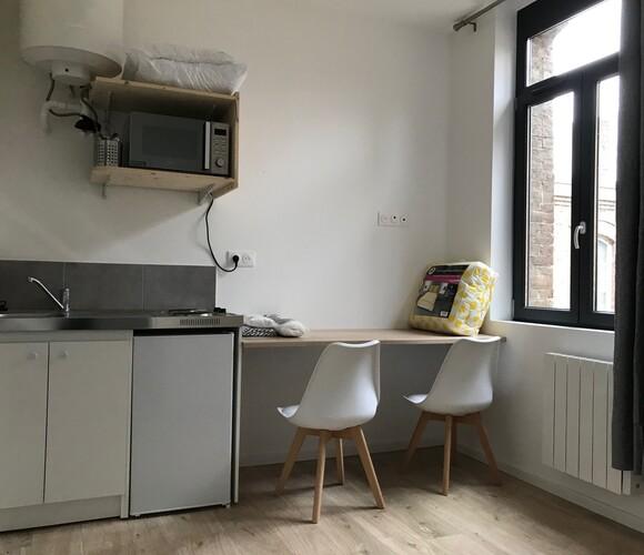 Location Appartement 1 pièce 10m² Amiens (80000) - photo