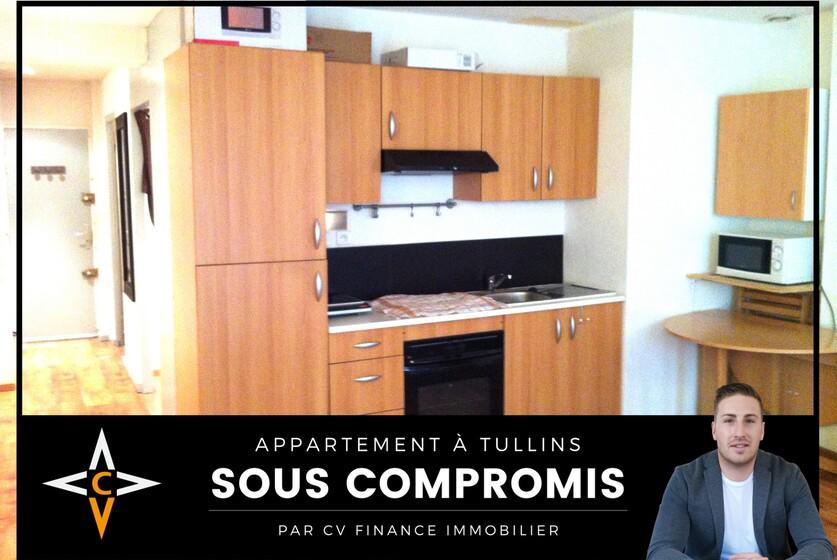 Vente Appartement 2 pièces 36m² Tullins (38210) - photo