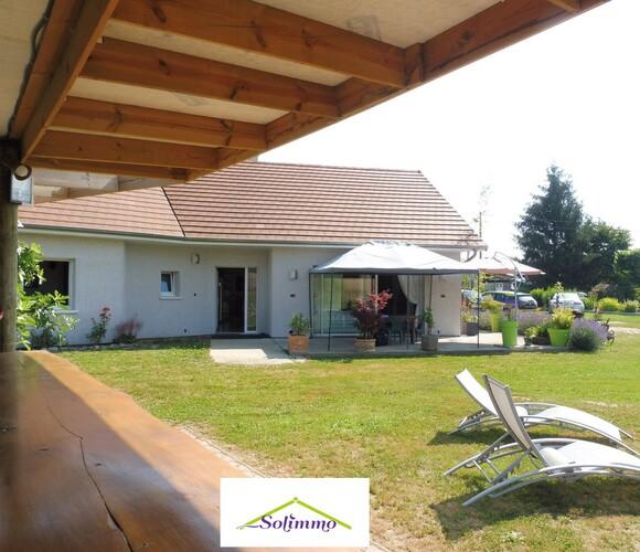 Vente Maison 5 pièces 146m² Saint-André-le-Gaz (38490) - photo