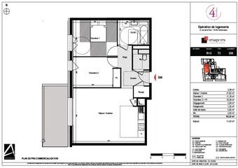 Vente Appartement 2 pièces 64m² Annemasse (74100) - Photo 1