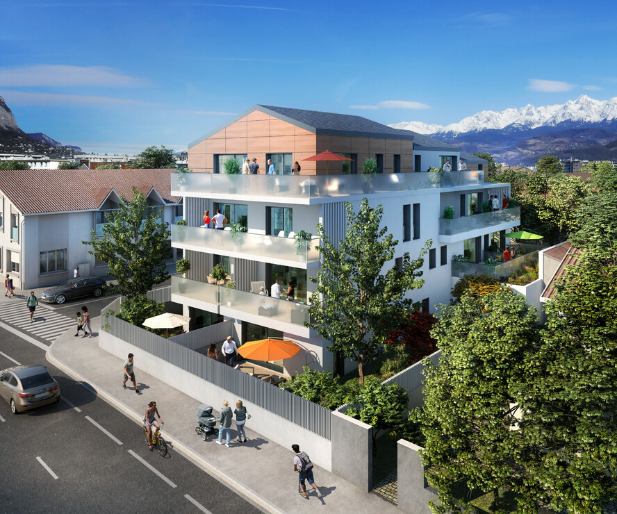Vente Appartement 5 pièces 105m² Grenoble (38100) - photo