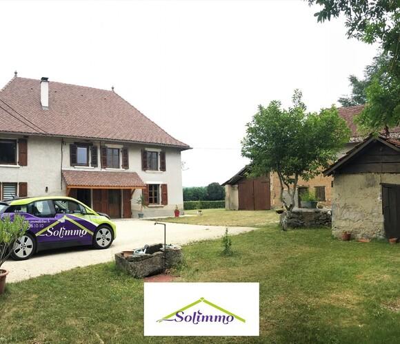 Vente Maison 11 pièces 190m² La Bâtie-Montgascon (38110) - photo