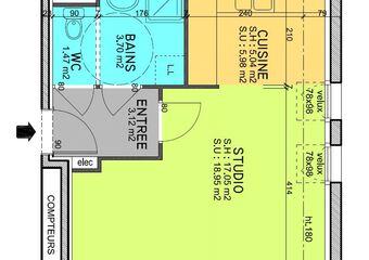 Location Appartement 1 pièce 35m² Guénange (57310) - Photo 1