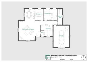 Location Maison 4 pièces 113m² Neufchâteau (88300) - Photo 1
