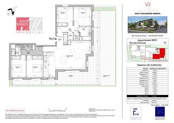 Vente Appartement 5 pièces 110m² Collonges-sous-Salève (74160)