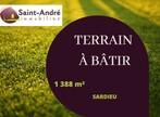 Vente Terrain 1 388m² Sardieu (38260) - Photo 1