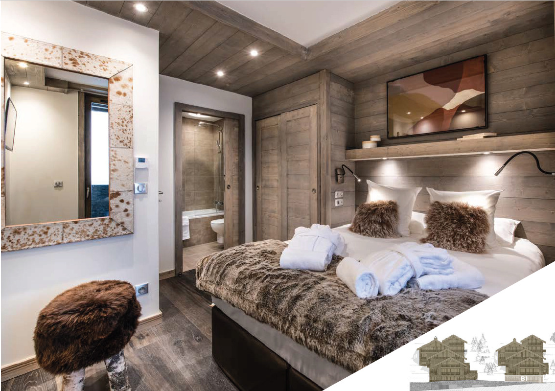 BEAUTIFUL APARTMENT WITH SPA Chalet in Meribel