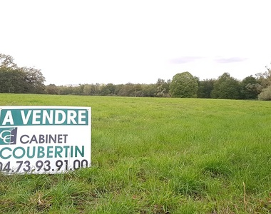 Vente Terrain 880m² Lezoux (63190) - photo