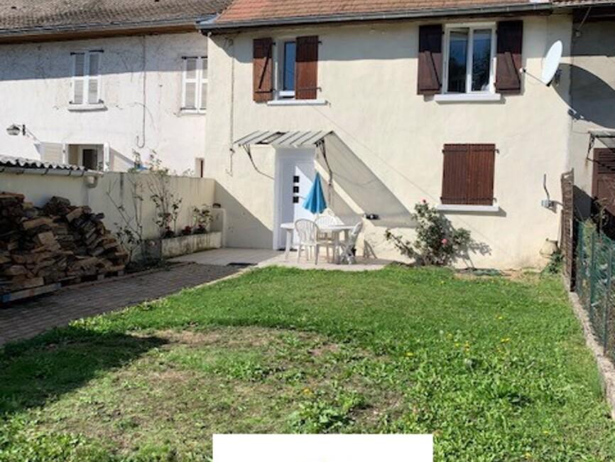Vente Maison 3 pièces 70m² Saint-André-le-Gaz (38490) - photo