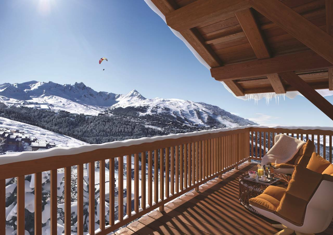 CHALET IN PRIVATE AREA Chalet in Courchevel